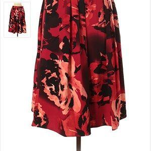 Eva Mendes Floral Full skirt